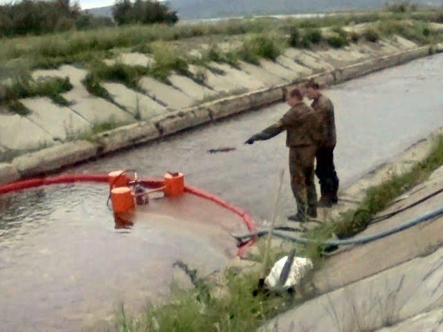 Нефтепродукты попали в Ангару