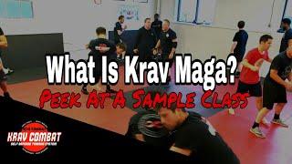 What Is Krav Maga? Peek At A Real Krav Maga Class In NJ - Kidnap Defense - Yellow Belt Drills