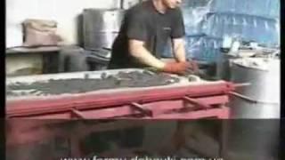 Технология изготовления панелей заборов