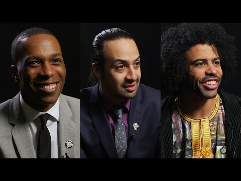 Lin-Manuel Miranda, Leslie Odom Jr., and Daveed Diggs Tell Their Stories With Hamilton