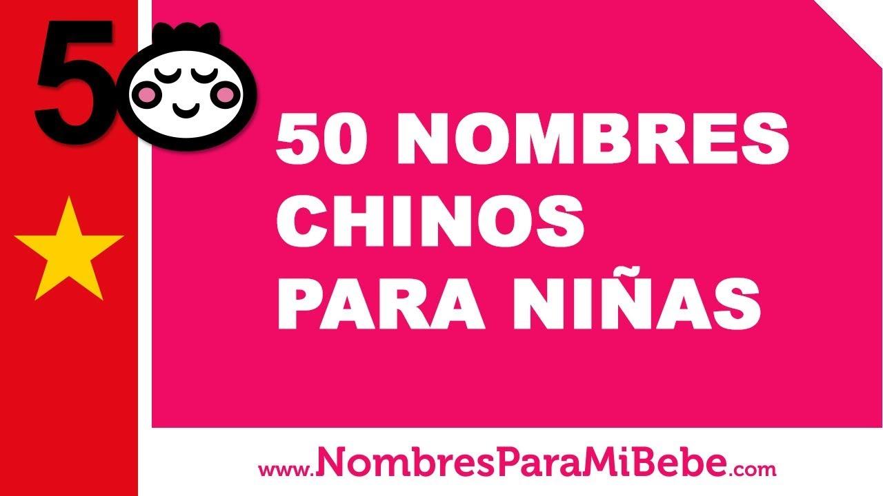 50 nombres chinos para niñas - los mejores nombres de bebé - www.nombresparamibebe.com