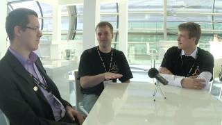 Bitcoin 2014 conference - Interviewing Jan Møller and Andreas Petersson