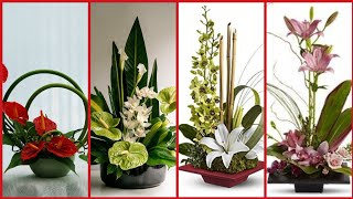 Adorable And Stunning Ikebana Flower Arrangement Ideas For Home Decor And Garden Decoration