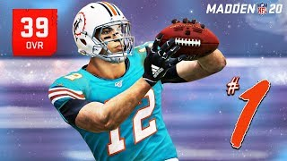 DOLPHINS SIGN WORST WR EVER! | Madden 20 Brutally Honest WR Career EP1