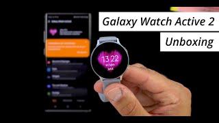 Größer & besser! Samsung Galaxy Watch Active 2 (44mm): Unboxing & Einrichtung