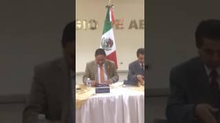 Firma de convenio Colegio de Abogados de Honduras y la Universidad de Xalapa Veracruz ,México