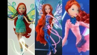 Winx Club- Bloom All Doll [Stop Motion] Transformations (Up To Onyrix)
