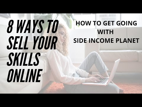 8 ways to sell your skills online | Promote yourself online | Promote your skills | Skills Leverage