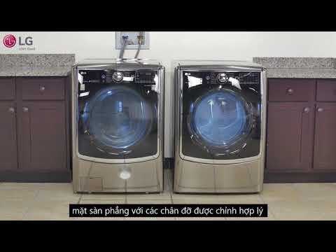 Làm thế nào để giảm tiếng ồn và rung lắc máy giặt