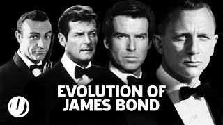 The Evolution Of James Bond - 007 From Connery To Craig