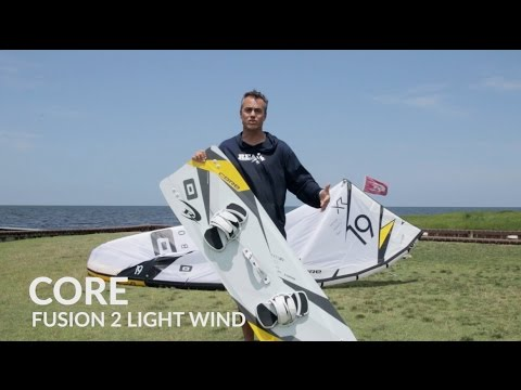 Core Fusion 2 LW Light Wind Kiteboard Review