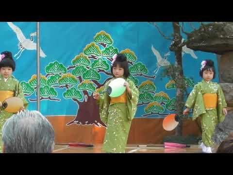 子ども神輿 #奉納踊り #若宮保育園児 #2019