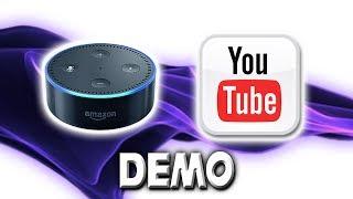 Alexa Youtube Audio Streaming Skill - Demonstration