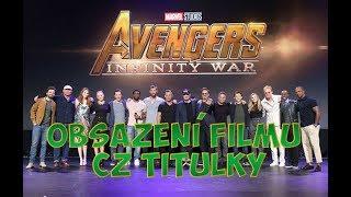 Představení hereckého obsazení AVENGERS: Infinity War   CZ Titulky