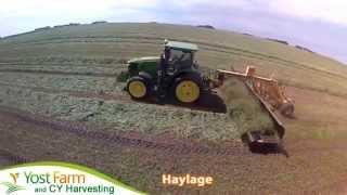 Yost Farm CYHarvesting Haylage