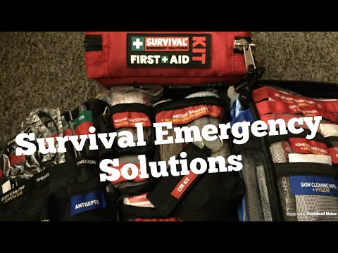 Survival Emergency Solutions first aid kit review