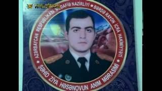 Şəhid Ziya Həsənovun anım mərasimi