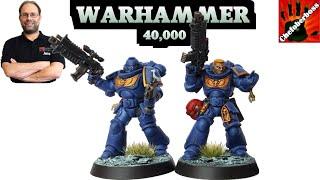 Wie bemalt man einen Ultramarines Primaris Captain für Warhammer 40.000 Conquest - Kontrast  Methode
