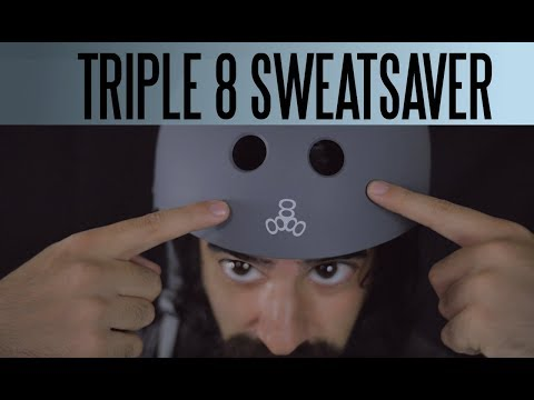 Testing out the Triple 8 Sweatsaver Helmet.