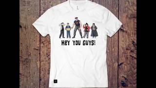 THE GOONIES Inspired Character Art & Tees - Sloth, Mikey, Mouth, Chunk & Data