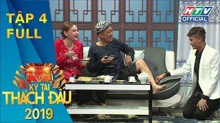 KỲ TÀI THÁCH ĐẤU 2019 | Hoàng Yến bất chấp hình tượng, Hari Won xõa tóc chơi ném bột #4 FULL #KTTD