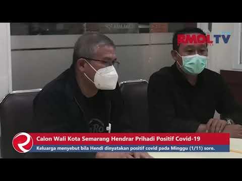 Kondisi Calon Wali Kota Semarang Hendrar Prihadi Positif Covid 19