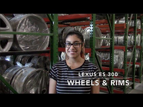 Factory Original Lexus ES 330 Wheels & Lexus ES 330 Rims – OriginalWheels.com
