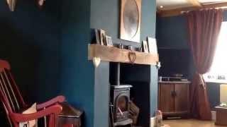 Hunting Lodge Theme Living Room Tour. Shabby Chic Alternative  Decor From BamTilly UK