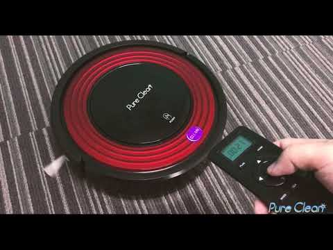How to set up PUCRC95 Robot Vacuum Cleaner - Self Activation and Charge Dock
