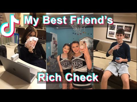 Hey yo! My Best Friend's Rich Check   TikTok Compilation