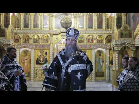 Слово митрополита Даниила на утрене с чином погребения Плащаницы