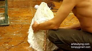 Изготовление гипсовых форм для литья изделий скульптура