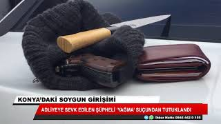 Konya'da soygun girişimi iddiası