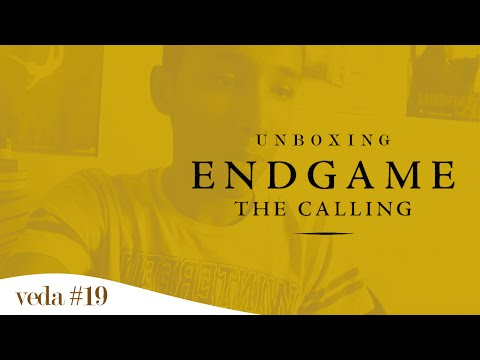 Unboxing - Endgame: The Calling | Um Bookaholic (VEDA #20)