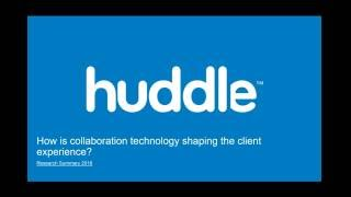 Huddle video