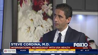 USA Health neurologist first in the state to perform new aneurysm procedure