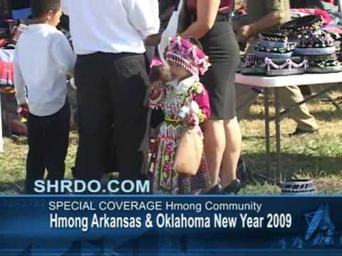 Suab Hmong Radio Special Coverage on Hmong Arkansas New Year 2008 Part 1 of 2