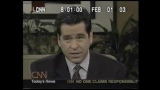 The Columbia Disaster: CNN Live Coverage Part 1