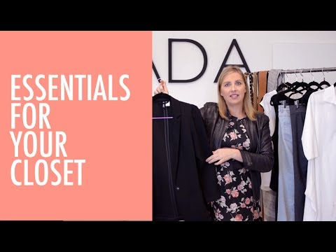 Essential Pieces For A Curated Closet | Styling Series | ADA Collection