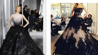 30 Bold & Gorgeous Black Wedding Dresses & Gowns