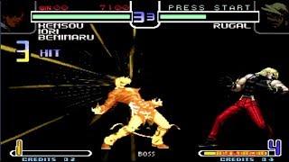 KOF 2002 - Super Golden Yagami Team Vs Rugal BOSS