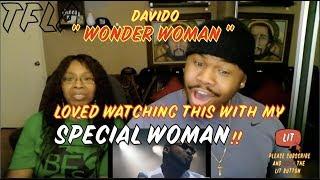 Davido - Wonder Woman | (THATFIRE LA) Reaction