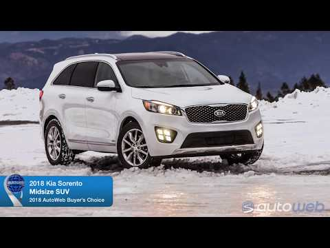 2018 Kia Sorento Wins AutoWeb Buyer