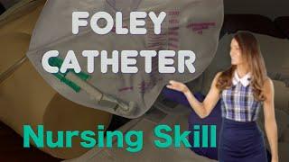 How to insert a Foley Catheter Male I Foley Catheter sterile technique