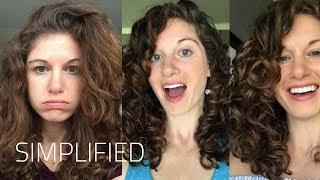Easy Curly Girl Method For Beginners