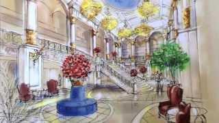 Consolari Concert Hall - Architectural Inspiration