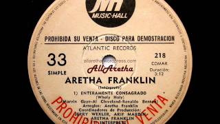 Aretha Franklin - Precious Lord / You've Got A Friend / Wholy Holy - 7″ DJ Promo Argentina - 1972