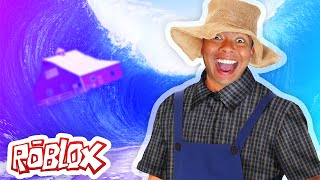SURVIVING A TSUNAMI! | Roblox