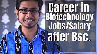 Biotechnology Career jobs and salary in India