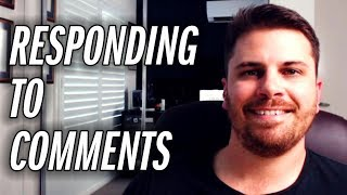 Reading & Responding To Comments | R&R Ep.2